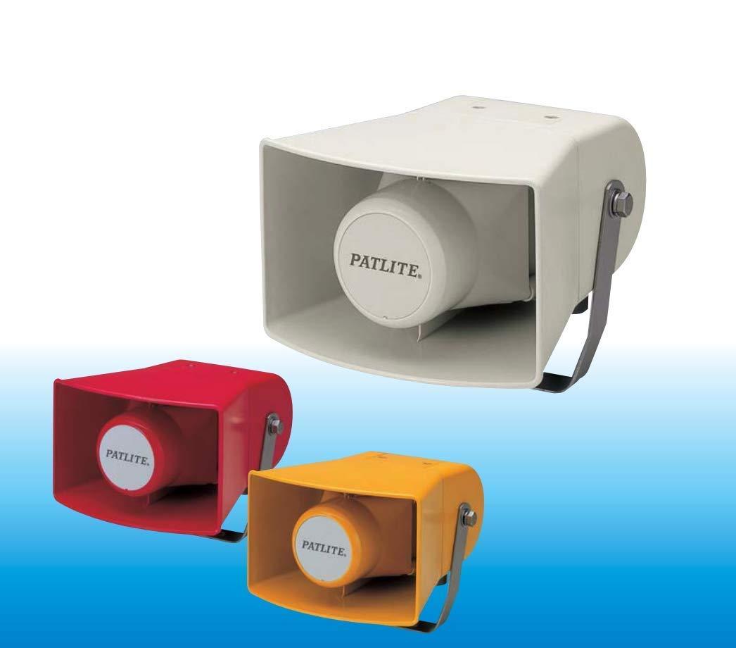 PATLITE EWS EWS-100KA-J Industrial Grade Horn Speaker Sounder Hooter Siren 8 x Built-in Alarm Tones