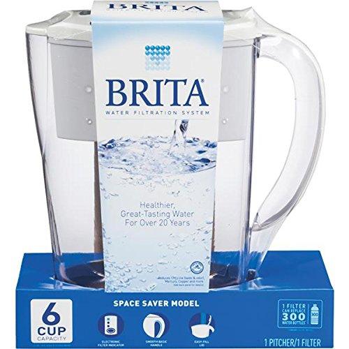 Brita Pitcher Refrigerator Plastic 1/2 Gal. Boxed