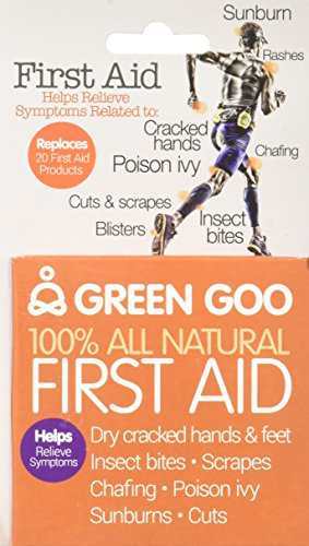 Dropship Wholesale Discount - Green Goo All-Natural Skin Care, First Aid, Large Tin, 1.82 Ounce