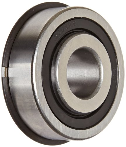Extended Inner Shaft - The General 7510 DLG Extra Light Extended Inner Ring Bearing, Double Sealed, With Snap Ring, Inch, 0.62