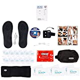 DR-HO'S Pain Therapy System Ultimate Package (includes 24 small massage pads, 6 large massage pads, foot massage pads, back relief belt, arm band, Magic Heat Pack & more)
