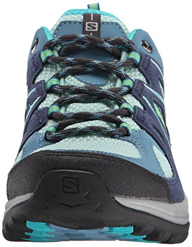 Salomon Ellipse 2 Aero - Zapatillas de senderismo Mujer Azul (Igloo Blue /         Slateblue /         Teal Blue F)