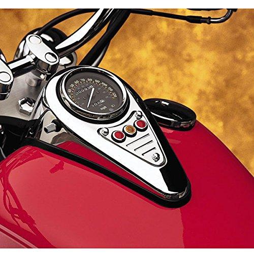 Cobra Vulcan Dash fluted Plaque for Kawasaki 1996-2008 VN1500D/E/G - One Size TRTB686