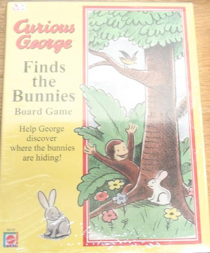 CURIOUS GEORGE Finds the Bunnies Board Game by Mattel