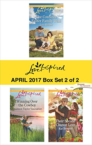 book cover of Harlequin Love Inspired April 2017 - Box Set 2 of 2