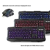 Sumvision Nemesis Kane Pro Edition LED Gaming Keyboard and Mouse USB Combo Pack