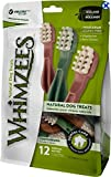 Paragon Whimzees Toothbrush Star Dental Treat for Medium Dogs, 12 Per Bag