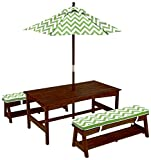 KidKraft Table and Bench Set with Umbrella