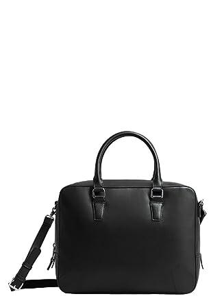 5f1103b9c14d1 MANGO MAN - Koffer mit Taschen prägung - Size Einheitsgröße - Color Schwarz
