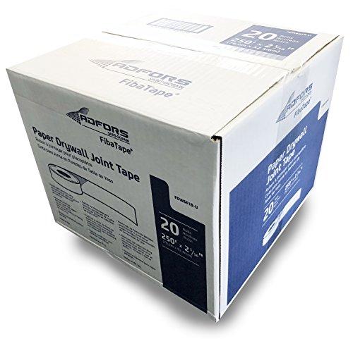 Adfors Fibatape Paper Drywall Joint Tape 250' x 2 1/16