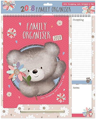 5 opinioni per 2018 Calendario Organizzatore di Famiglia, Blocco note, Lista di Shopping Penna-