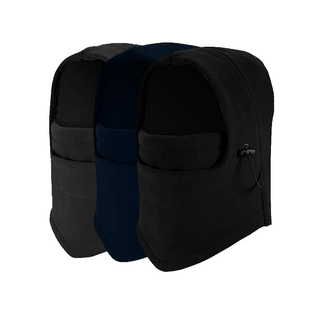 STONCEL 6 in 1 Thermal Fleece Balaclava Hood Police Swat Ski Bike Wind Stopper Face Mask (3)