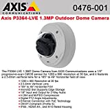 AXIS P3364-LVE Network Camera - Color, Monochrome - 1280 x 960 - 3.6x Optical - CMOS - Cable - Fast Ethernet - 0476-001