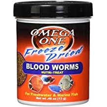 Freeze Dried Blood Worms 0.46oz.