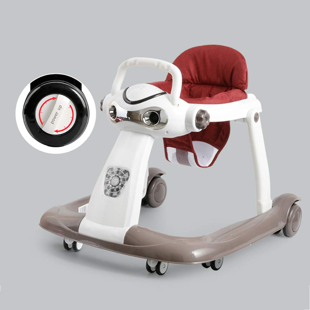 LFY Andador para bebés con Velocidad de Rueda Ajustable, fácil de ...