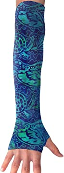 Huadduo Beach Summer Swim Suit UV Protection,Compression /& Cooling Arm Sleeves For Women