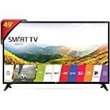 "LG 49LJ5550 com Painel IPS - Smart TV LED 49"" Full HD"