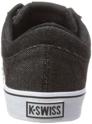 K-Swiss 03164-034-M - Zapatillas de deporte para Negro (Noir (Black/White/Wine))