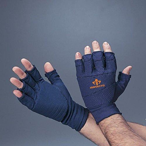Impacto Ergonomic Anti-Impact Glove Liner All Padded - XS - Left Hand by Impacto (Image #1)