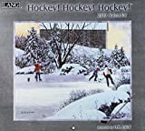 Hockey! Hockey! Hockey! 2019 Calendar: Includes Free Downloadable Wallpaper