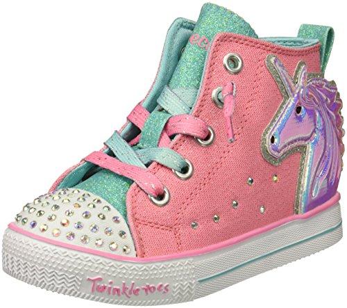 Skechers Kids Twinkle Lite-Unicorn Minis Sneaker