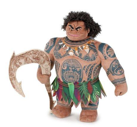 Vaiana (Moana)- Pack 3 peluches Vaiana 26cm (chica) + Maui 26cm (Chico) + Pua 24cm (cerdo, mascota Vaiana) - Calidad super soft - pack3modT3: Amazon.es: ...