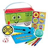 2nd Birthday Train Party Supplies - Filled Party Favor Box