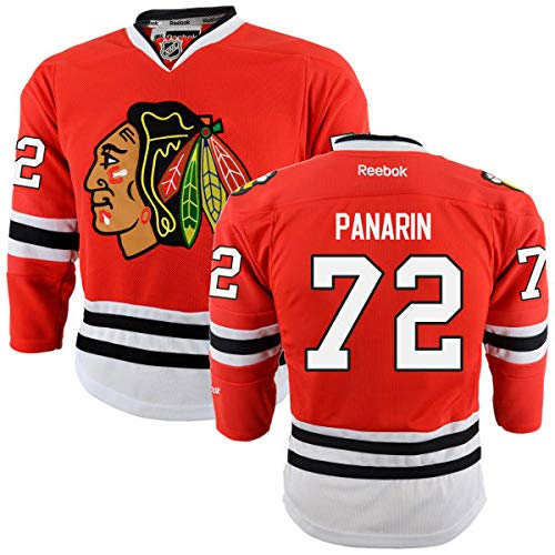 brand new 82563 40bb7 Amazon.com : Reebok Chicago Blackhawks #72 Artemi Panarin ...