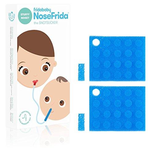 Nosefrida Nasal Aspirator  4 replacement hygiene filters,