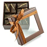 Fine, Artisanal, Vegan Chocolate Gift: Amore di Mona 16 Piece Frutta Mignardise: Made Pure & Simply with Premium Ingredients That Are All Natural, Non-GMO, Kosher, Gluten, Soy, Sesame & Nut Free