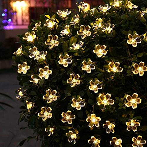 OUD® Flower Decorative String Lights for Indoor, Outdoor Gardens Homes Diwali, Wedding, Christmas Party Lighting…