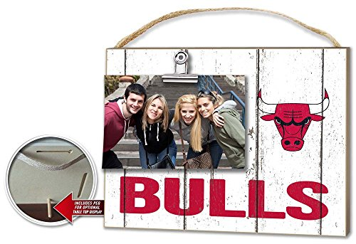 Chicago Bulls Clip It Weathered Logo Photo - Discount Frames