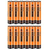 iMah AAA Rechargeable Batteries, Also Compatible with Panasonic Cordless Phone Battery HHR-4DPA/4B Ni-MH 1.2V 550mAh HHR-55AAABU and 750mAh HHR-75AAA/B-6, Outdoor Garden Solar Lights, Pack of 12