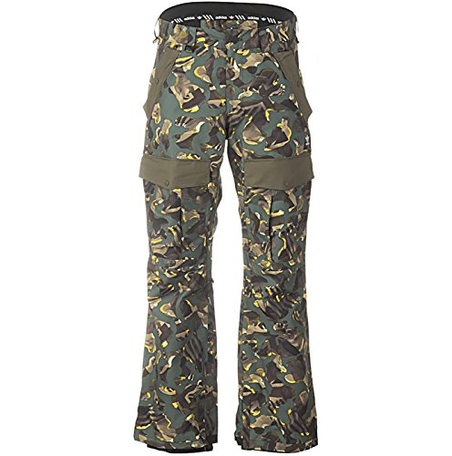 Adidas Snowboarding Greeley Insulated Pant - Camo Print SZ L by adidas