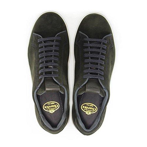 Churchs Mens Eeg0039vkf0snp Sneakers In Camoscio Nero
