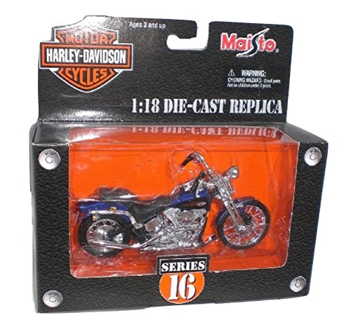 Maisto Harley Davidson Die Cast 1999 FXSTS Springer Softail 1:18 scale Series 16