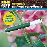 Fend Off Deer/Rabbit Organic Odor Clips, 50pk