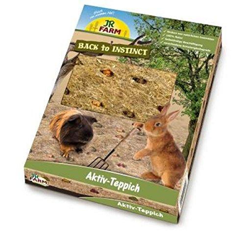 JR de Farm Back to Instinct activo de alfombra para roedores 175g JR-Farm