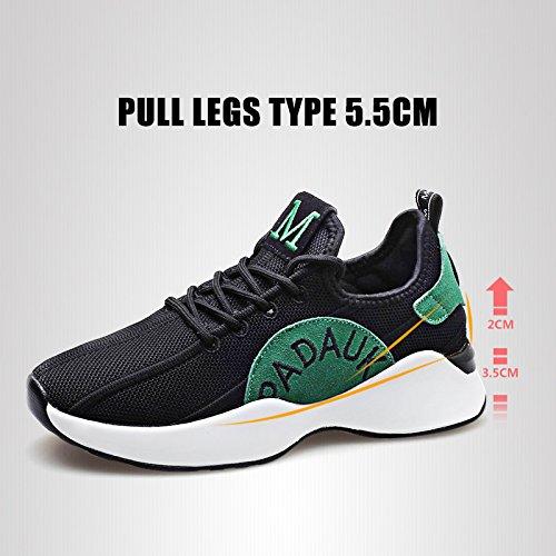 Monrinda Womens Running Trainers Mesh Lightweight Sport Sneakers Summer Ladies Athletic Jogging Walking Fitness Black White fBH0Fk8
