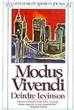 Modus Vivendi, Deidre Levinson, 014008097X