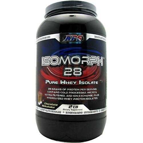 APS Nutrition IsoMorph 28 - Chocolate Milkshake - 2 lbs (Aps Whey)