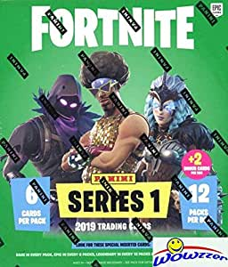 2019 Panini FORTNITE Trading Cards EXCLUSIVE Factory Sealed MEGA Box with 74 Cards including (2) SPECIAL FOIL PARALLELS! Look for Holofoil Parallels ...