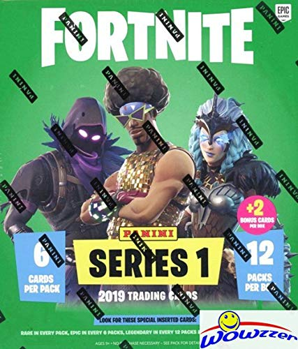 (2019 Panini FORTNITE Trading Cards EXCLUSIVE Factory Sealed MEGA Box with 74 Cards including (2) SPECIAL FOIL PARALLELS! Look for Holofoil Parallels of Uncommon, Rare, Epic & Legendary Cards! WOWZZER! )