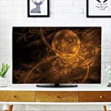 PRUNUS Television Protector Abstract Fractal Background a Computer generated D Television Protector W20 x H40 INCH/TV 40''-43''