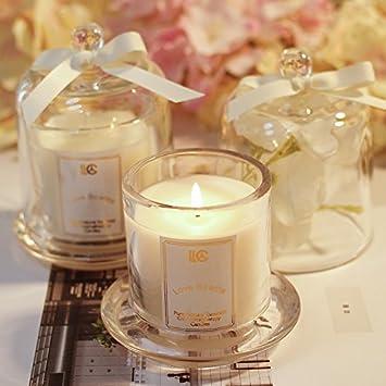 HANHAIBO Aromatherapie Kerze Schlafzimmer Romantischer Duft Kerze ...
