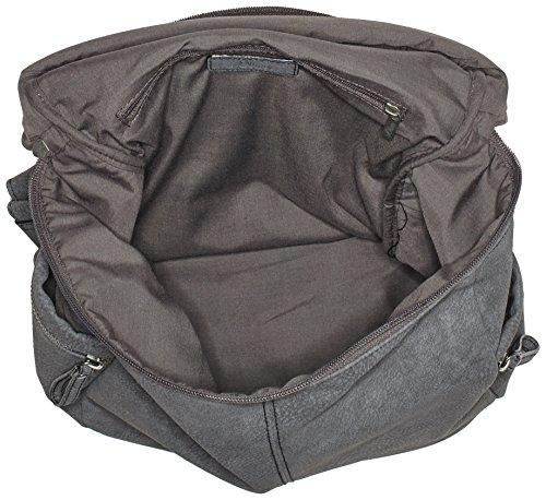 T Bags s Grau Grey 708 B 13x36x28 5984 39 94 x 50 cm femme H Oliver Sacs à dos Gun 5vvr1aH7c