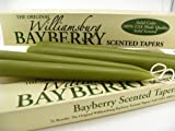 Williamsburg Bayberry Candles Tapers with Bayberry Candle Legend - Bayberry Scented