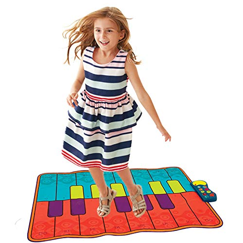 QXMEI Piano Dance Mat Children's Music Game Mat Fitness Mat Parent-Child Interactive Toys by QXMEI (Image #7)