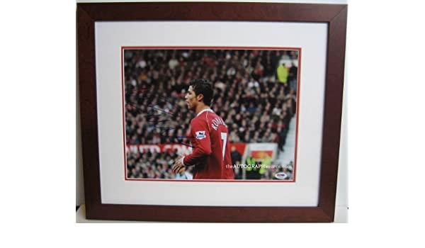 Cristiano Ronaldo Autographed Photograph at Amazon s Sports Collectibles  Store f3c7113a3
