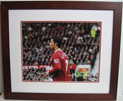 629a8648c1d Cristiano Ronaldo Autographed Photograph at Amazon s Sports ...